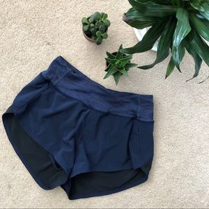 Outdoor Voices Hudson Shorts XS Navy Blue